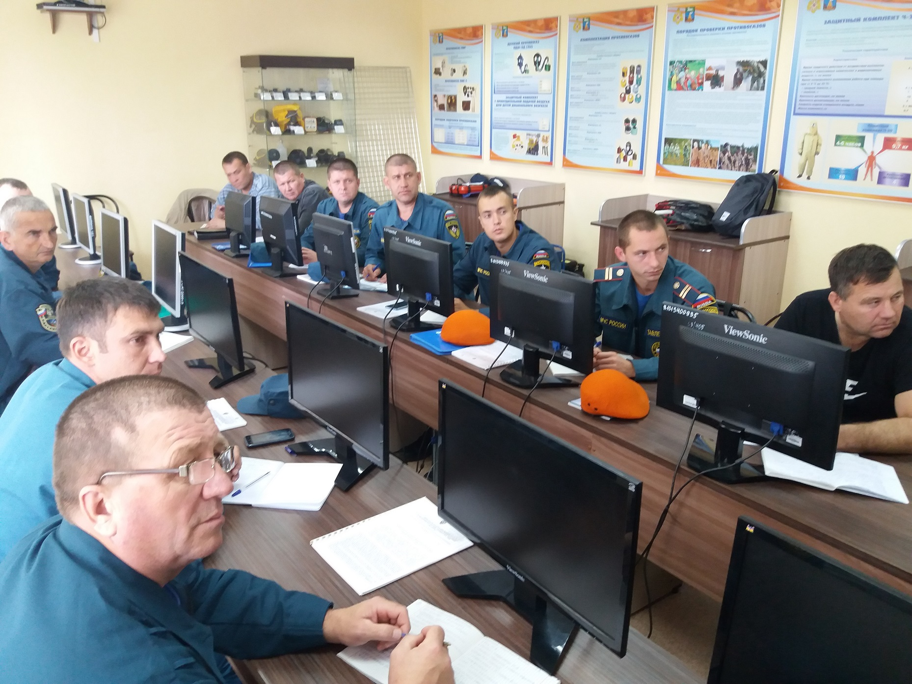Обучение по специальности «пожарный»
